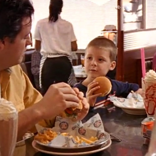 "Silver Diner ""Father & Son"""